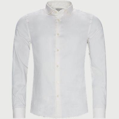 Farrell 5 Skjorte Slim   Farrell 5 Skjorte   Hvid